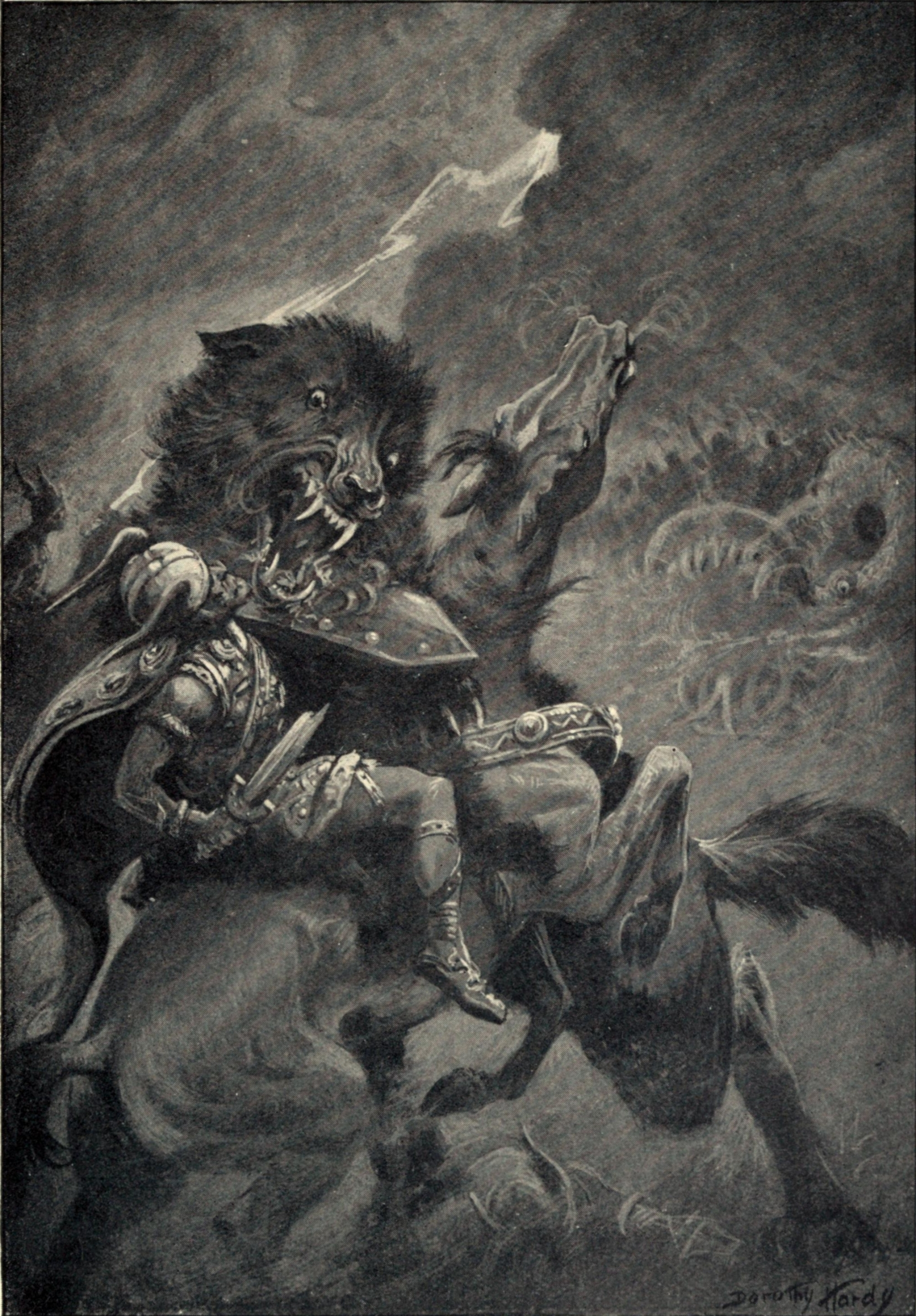 Odin and Fenris by Dorothy Hardy.jpg