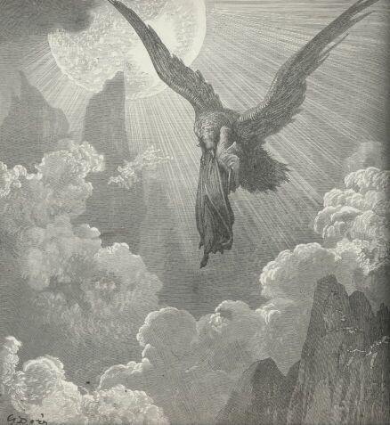 Purgatorio by Gustave Dore