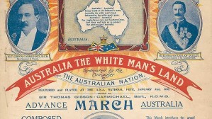 Australia, The White Man's Land