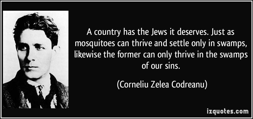 Corneliu Codreanu on the Jews