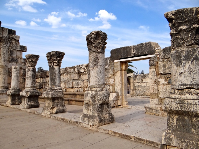 Ruins of ancient Synagogue